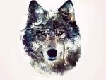 wolf art