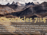 Chronicles 7:14