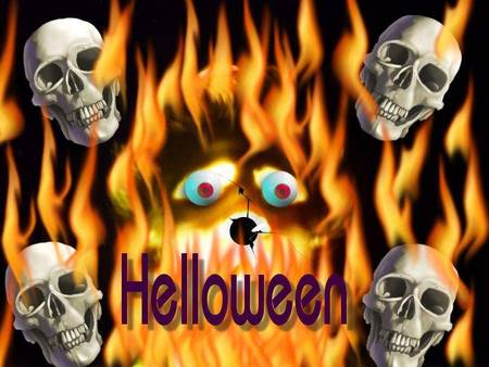 skulls and fire fantasy abstract background wallpapers on