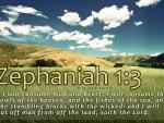Zephaniah 1:3