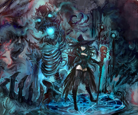 witch and demon other amp anime background wallpapers on