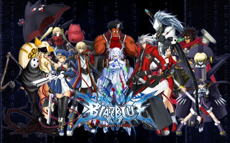 blazblue characters - blueish, blaz, cool, blue