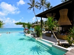 Beach Front Infinity Pool