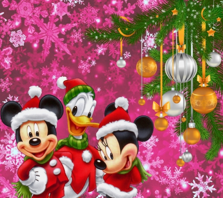 Disney Christmas Collages Abstract Background Wallpapers On