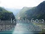 Isaiah 60:20
