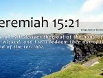 Jeremiah 15:21