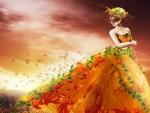 Mother Nature's Autumn Dress