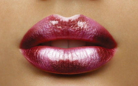Soft and smooth - glossy, close up, lips, silky