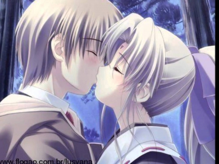 Pure Kiss Anime Love And Romance Wallpapers And Images Desktop