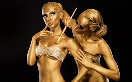 *Golden Girls* - mimo, makeup, golden, body, girls