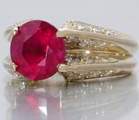 Rubin - rubin, ring, fashion, diamond
