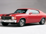 Muscle Cars - 1971 Chevrolet Chevelle SS