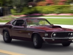 Muscle Cars - 1969 Ford Boss 429 Mustang Fastback