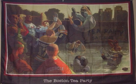 Boston Tea Party Fantasy Abstract Background Wallpapers On