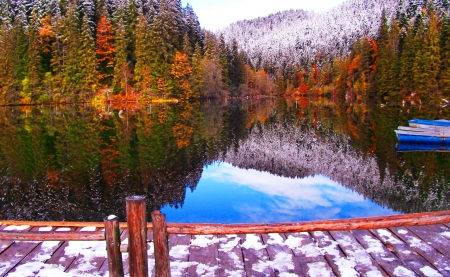 wallpaper landscape winter autumn - photo #47