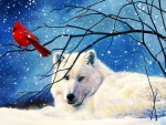 White Wolf Red Bird