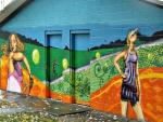 street art At queen's park