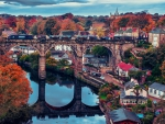 Knaresborough Train Bridge