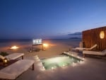 Beach Cinema and Jacuzzi