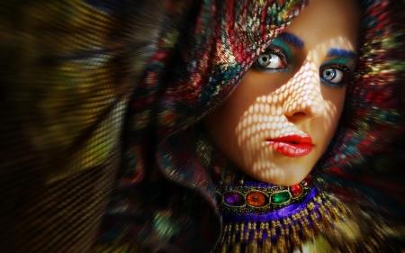exotic beauty  models female  people background