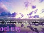 Joel 1:15