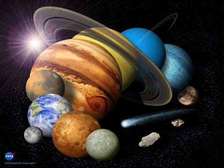 Solar system planets space background wallpapers on - Space solar system wallpaper ...
