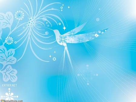 Hummingbird Vector Art - delightful hummingbird, humming, serene hummingbird, azul, bird