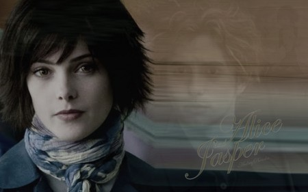Alice Cullen And Jasper Hale Movies Entertainment Background