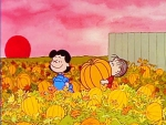Lucy And Linus Picking Out Thier Pumpkin