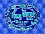 1903 Glass Ford Logo blue