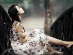 * Feel the rain *
