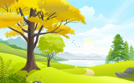 Vector Nature - Other & Abstract Background Wallpapers on Desktop ...