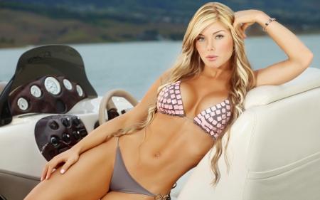 Sexy blondineen modelle