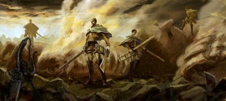 Battlefield Other Anime Background Wallpapers On Desktop Nexus Image 1603637