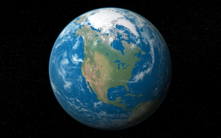 3D Earth - planet earth, earth from space, earth, 3D Earth