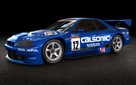 Calsonic Nissan GTR race car - 2013, calsonic, nissan, car, 11, 05, picture
