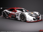 Honda HSV-010 Super GT race car