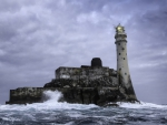 fastnet rock island lighthouse off ireland