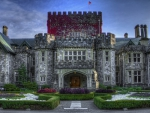 hatley castle in british columbia