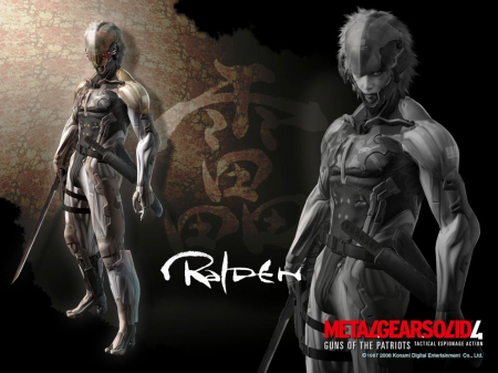Raiden - metal, solid, metal gear, gear, raiden, metal gear solid