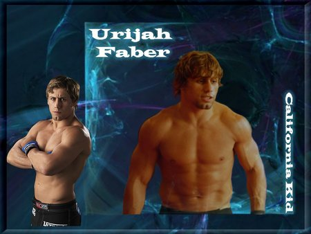 urijah faber - urijah faber, fighting, mma, mixed martial arts, california kid, athlete, octagon, wec