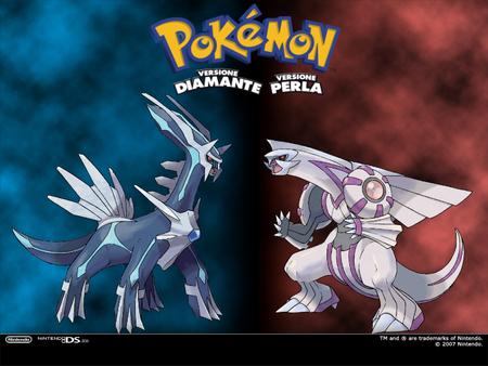 Pokémon Diamond Pearl Dialga Palkia Italian Pokemon