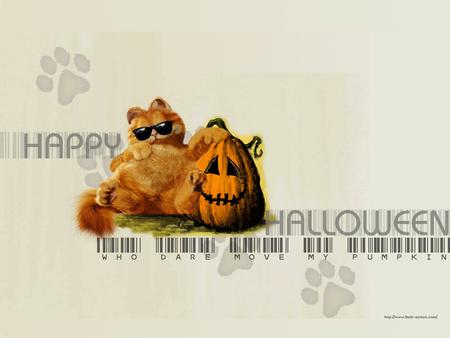 A Garfield Halloween - cat, halloween, garfield, funny, comics, humor