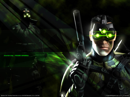Splinter Cell 3 Sam Fisher Other Video Games Background