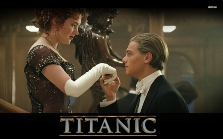 Rose And Jack - beautiful, titanic, lover, film