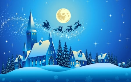 Christmas Scene.Christmas Scene 3d And Cg Abstract Background Wallpapers