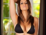 Nicci Pisarri gorgeous brunette in an awesome bikini