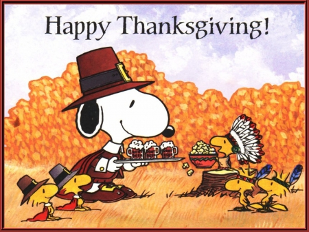 A Snoopy Thanksgiving Other Entertainment Background Wallpapers