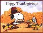 A Snoopy Thanksgiving