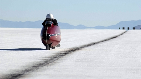 Salt Flat Racer - motorcycles, nature, other, people
